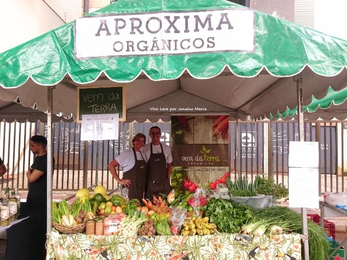feira aproxima alimentos organicos