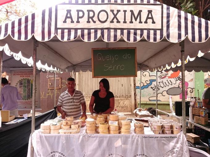 feira aproxima queijos mineiros