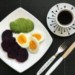 cafe da amanha abacate ovo batata doce
