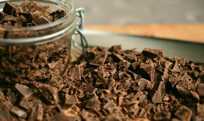 chocolate amargo low carb