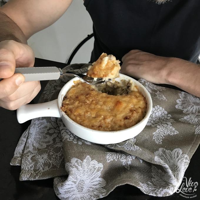 escondidinho de carne moida low carb