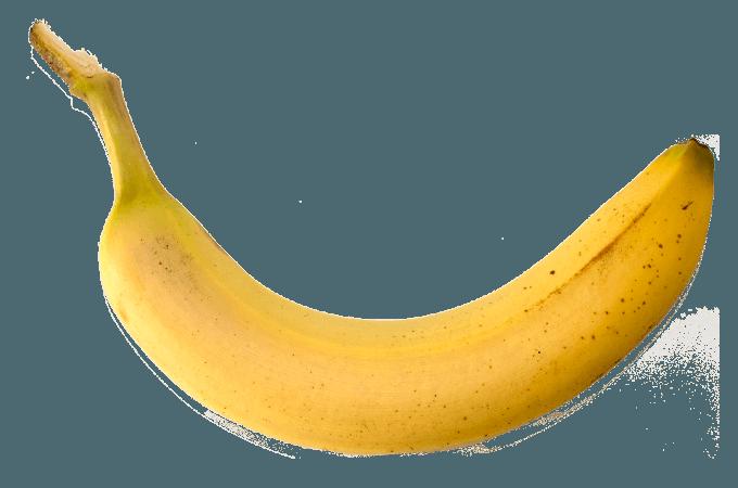 fezes em formato de banana