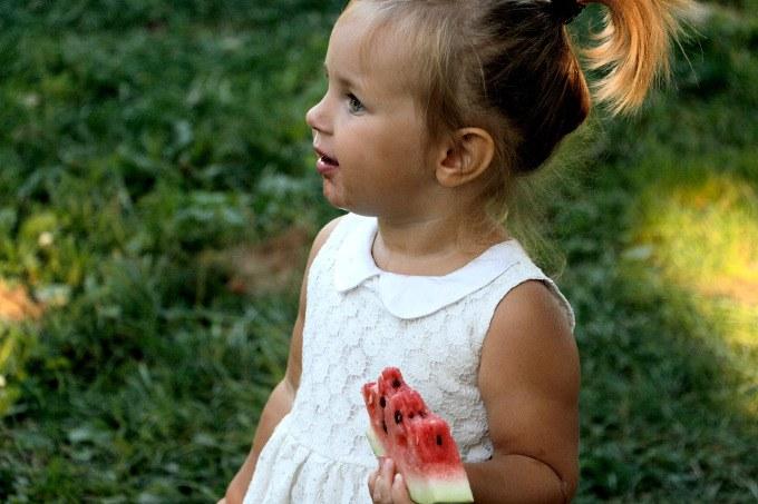 alimentacao infantil frutas in natura