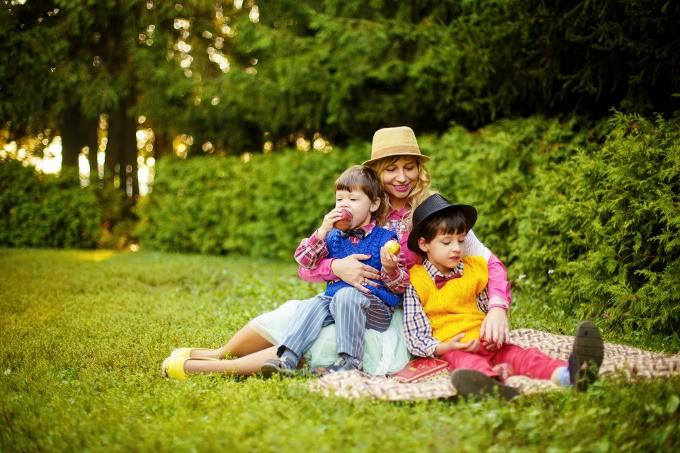 alimentacao pais e filhos