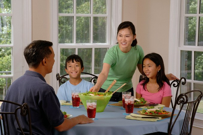 habitos alimentares dos pais