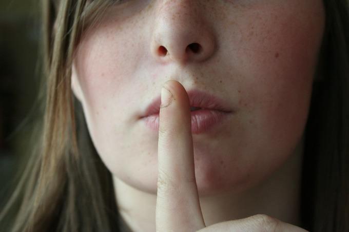 silencio sobre jejum que voce faz