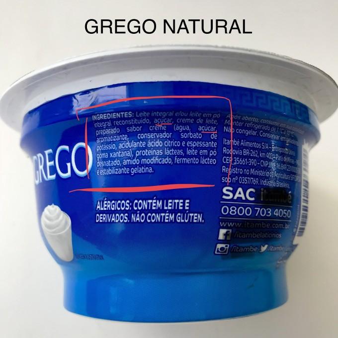 como comprar iogurte grego natural
