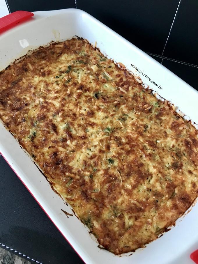 receita sufle de chuchu low carb