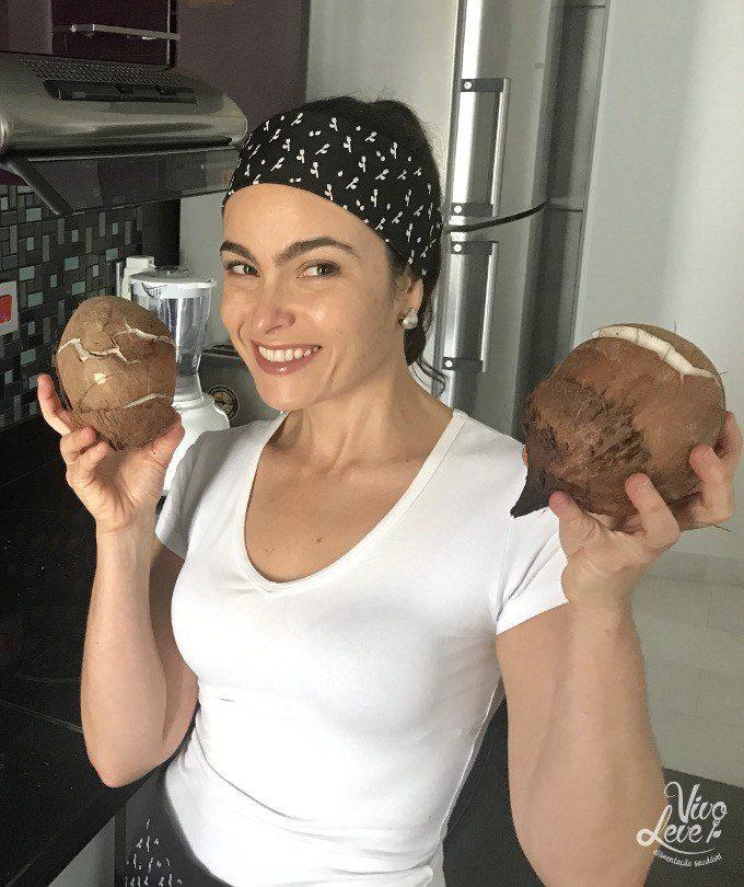 segredo culinario como abrir coco em casa janaina marra