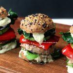sanduiche saudavel com legumes grelhados