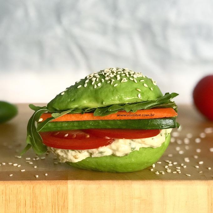 sanduiche saudavel de avocado